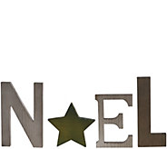 ED On Air Painted Rustic Wood Star Word Sign by Ellen DeGeneres - H207123