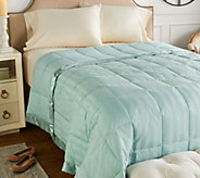Northern Nights 400TC 600FP Queen Dobby Stripe Down Blanket - H212123