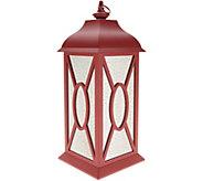 22 Illuminated Indoor/Outdoor Vintage Mercury Glass Lantern by Valerie - H215623
