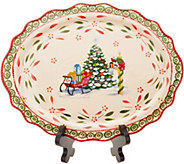 Temp-tations Limited Edition Holiday Oval Platter - H217023