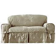 Sure Fit Matelasse Damask Sofa Slipcover - H359823