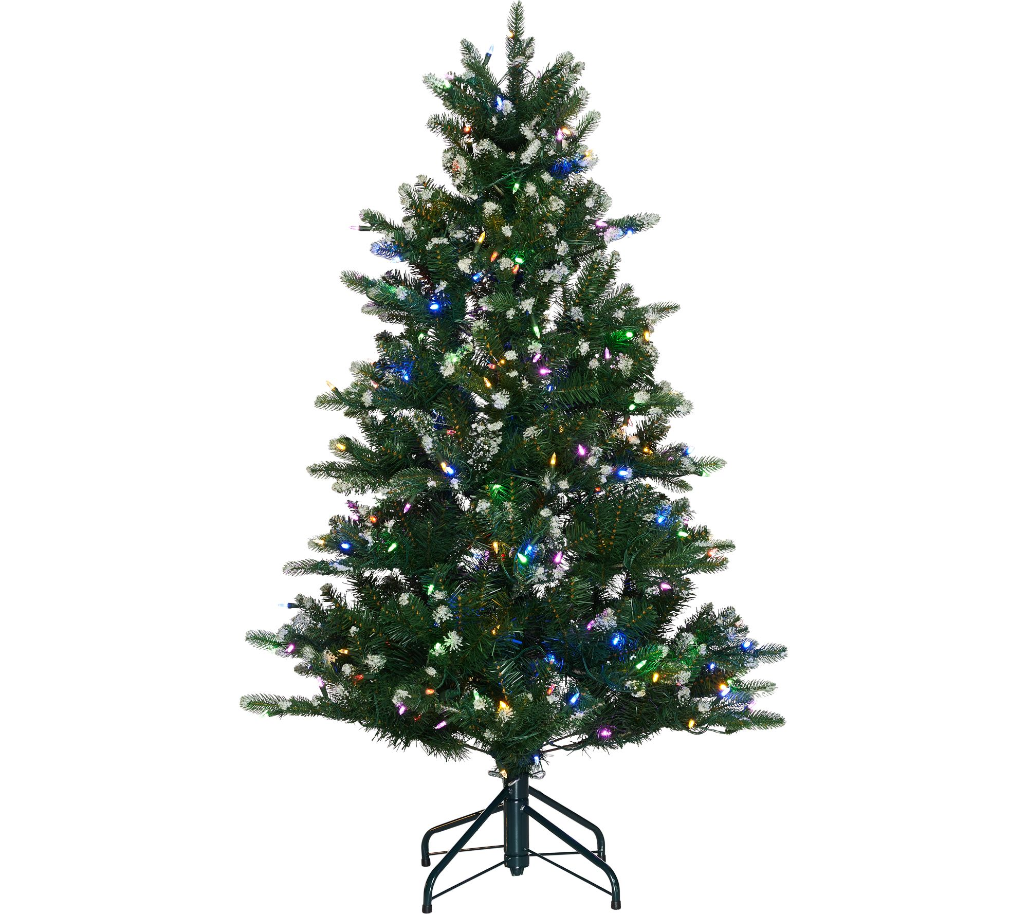 Best Price On Christmas Trees: ED On Air Santa's Best 5' Frosted Icicle Tree By Ellen