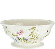 Belleek Floral Springtime 10 Bowl - H210924