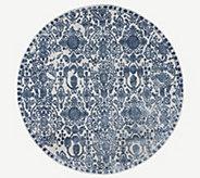 Inspire Me! Home Decor 53 Round Elegant Opulence Rug - H217324