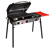 Camp Chef Big Gas Grill 3-Burner Stove w/ GrillBox - H314024