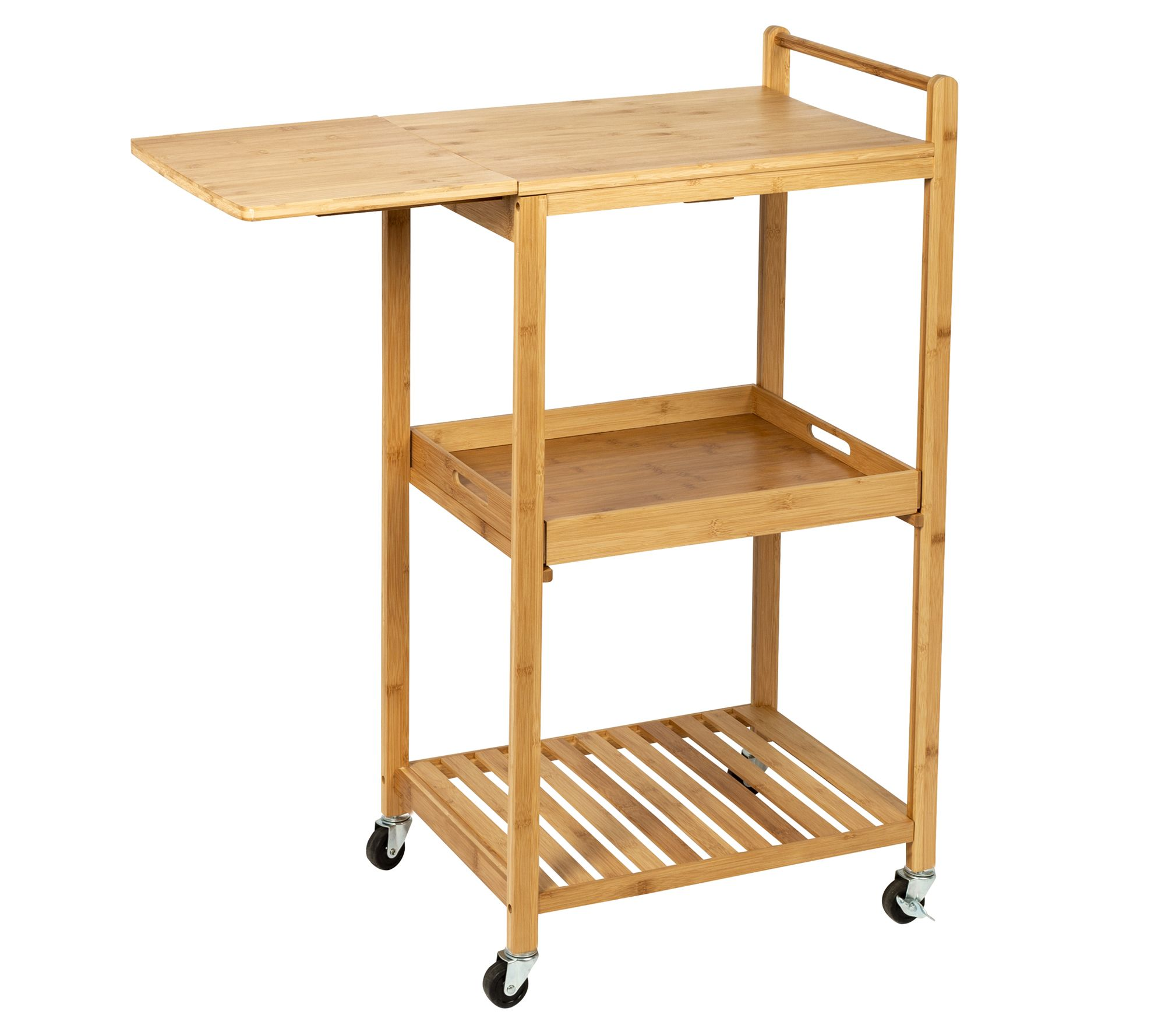 Honey Can Do Bamboo Kitchen Cart With