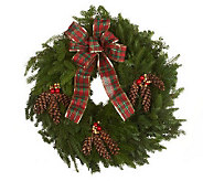 32 Country Deluxe Wreath by Valerie Del Week12/3 - H368225