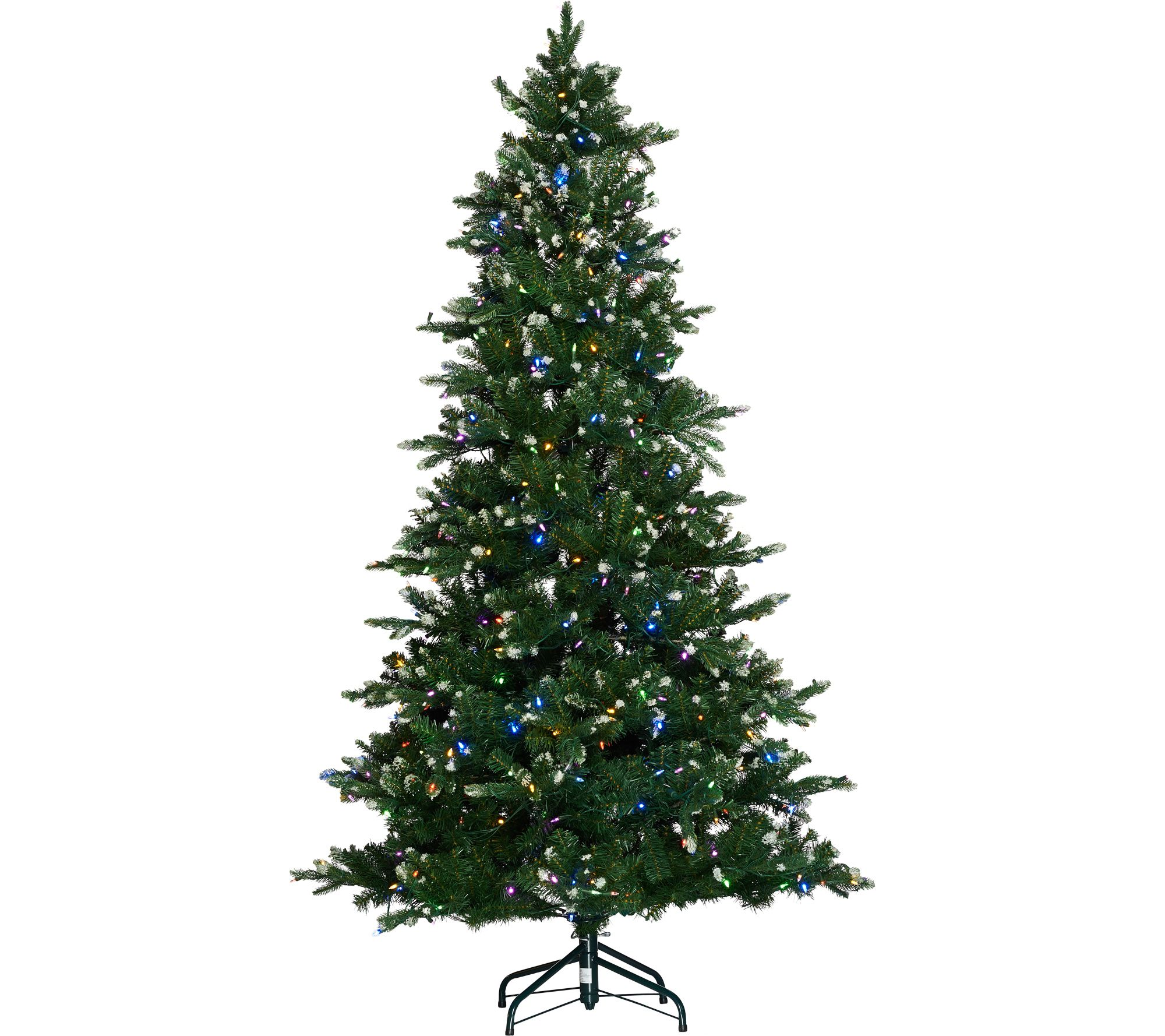 ED On Air Santa\'s Best 7.5\' Frosted Icicle Tree by Ellen DeGeneres ...