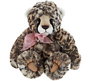 Charlie Bears Collectible Kiri 13 Plush Leopard Bear - H212826