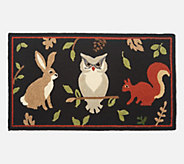 Plow & Hearth 42 x 24 Seasonal Harvest Accent Rug - H216126