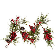 4 Juniper, Pinecone, and Berry Garland by Valerie - H216326