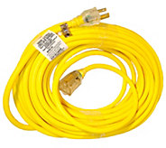 Snow Joe 50 14 Gauge Low Temp Extension Cord with Lighted End - H300826
