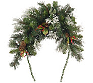National Tree Company 36 Wintry Pine Mailbox Swag - H303127