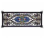 Tiffany Style Antoinette Transom Window Panel - H131428