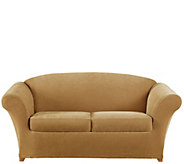 Sure Fit Stretch Pique 2-Seat Love Seat Slipcover - H289528