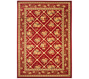 Lyndhurst Floral Lattice Power Loomed 53 x 76 Rug - H356828