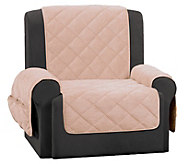 Sure Fit Recliner Textured Pique Waterproof Furniture Cover - H216329