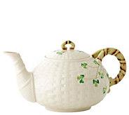 Belleek Shamrock Teapot - H296229