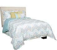 Scott Living Cascadia Reversible Queen 6 Piece Comforter Set - H212130