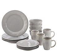 Rachael Ray Cucina Dinnerware 16-Pc Stoneware Dinnerware Set - H290230