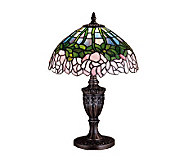 Meyda Tiffany Style 18 Cabbage Rose Accent Lamp - H122431