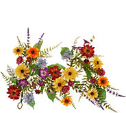 Anniversary 4 Garden in Bloom Garland by Valerie - H213731