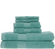 Home Reflections 6-Piece Towel Set w/ Silvadur Technology - H216231
