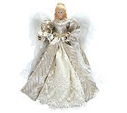 16 Silver Elegance Angel Tree Topper by Santas Workshop - H287331
