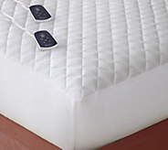 Shavel Micro Flannel Full Electric Mattress Pad - H301331