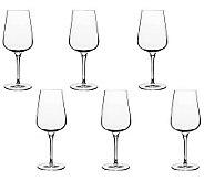 Luigi Bormioli 15.25-oz Intenso White Wine Glasses - Set of 6 - H364831