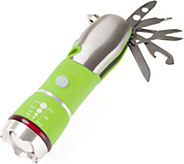Stalwart 12-in-1 Emergency Safety Multi-Tool with Flashlight - H291432