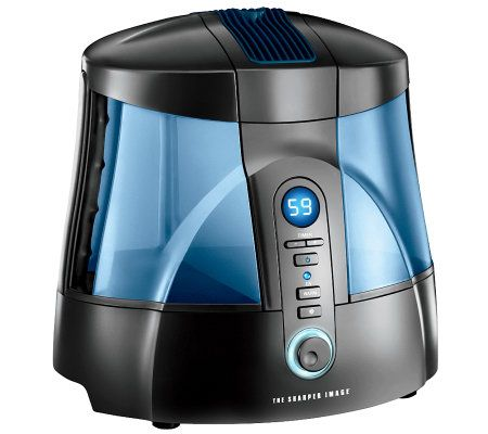 Sharper Image Warm And Cool Mist Ultrasonic Humidifier With Uv Qvccom