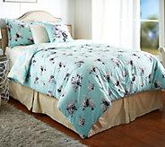 Isaac Mizrahi Live! Home 5pc Garden Trellis Full Comforter Set - H208633