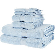 Charisma Classic 6 Piece 100Cotton Towel Set - H213033