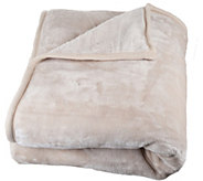 Lavish Home Solid 8-lb Thick Plush Blanket - H297633