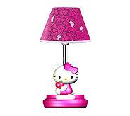Hello Kitty 16-1/2 Magenta Table Lamp - H359033