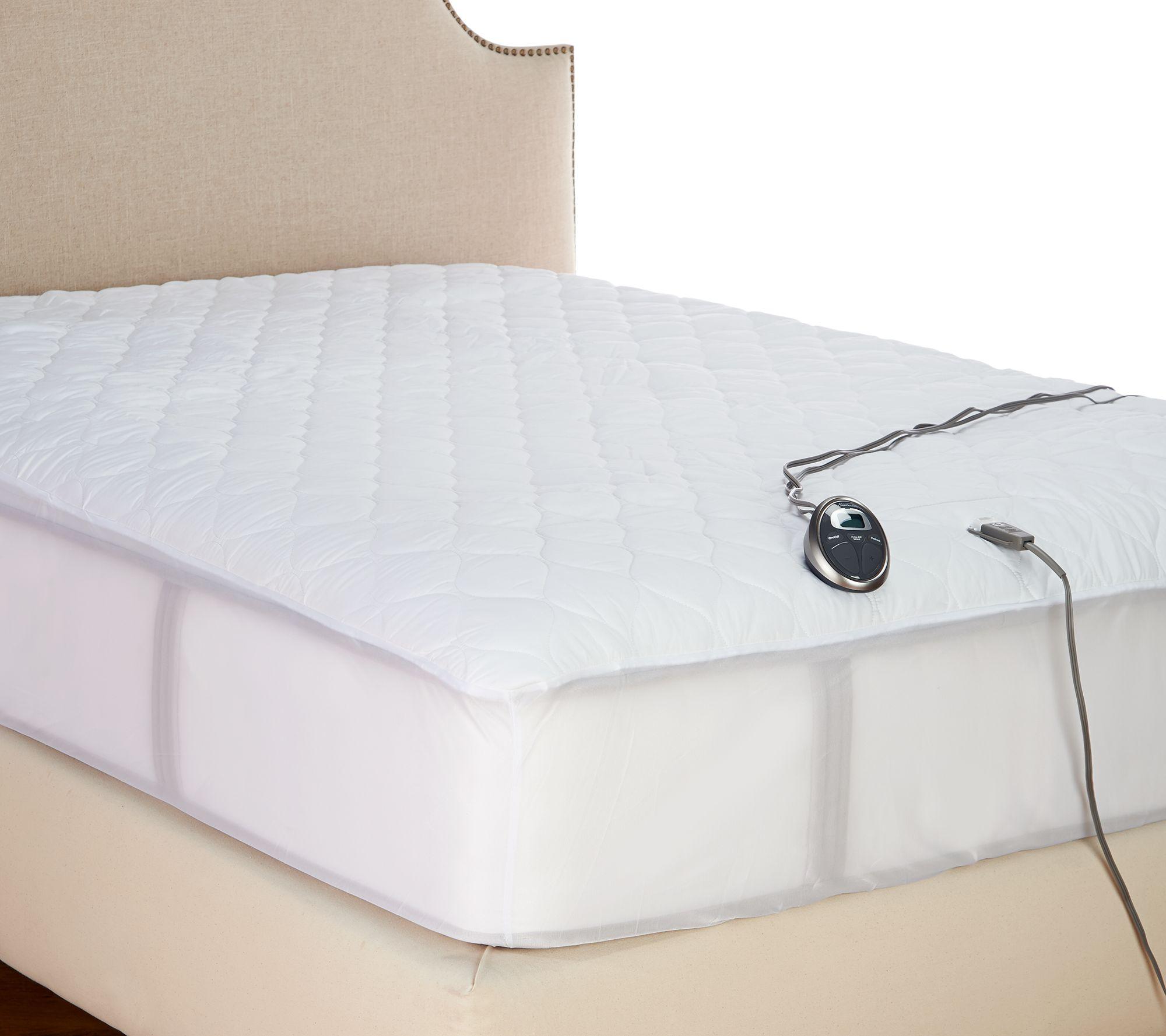 walmart mattress heated com pad sunbeam ip
