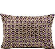 Kathy Ireland Marble Beads 10x 14 Throw Pillow - H300734