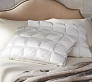 Charisma Set of 2 400TC Microgel King Pintuck Pillows - H213035