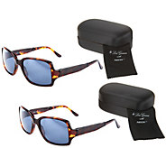 Set of 2 Foldable Neox Sunglasses with Compact Case by Lori Greiner - H215935