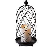 Luminara 15 Birdcage with Removable Candle - H294135