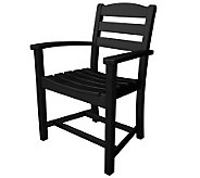 POLYWOOD La Casa Cafe Dining Chair with Arms - H349835