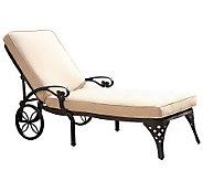 Home Styles Biscayne Chaise Lounge Chair with Cushion - H367835