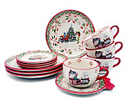 Temp-tations 12-Pc Holiday Dinnerware Set - H383435