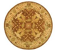 Anatolia II 4 x 4 Round Handtufted Oriental Wool Rug - H183636