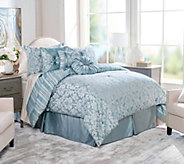 Northern Nights Jacquard Reversible 7 Piece Full Comforter Set - H211336