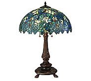 Tiffany Style 26H Nightfall Wisteria Table Lamp - H355936