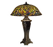 Tiffany Style 30 Fish Scale Table Lamp - H122437