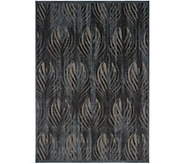 Inspire Me! Home Decor 53 x 73 Feather Print Rug - H217337