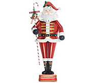 Ships 8/7 Kringle Express Indoor/Outdoor 52 Oversized Lit Santa - H217737